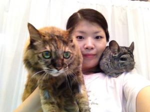 東京都調布の動物看護師のペットシッター